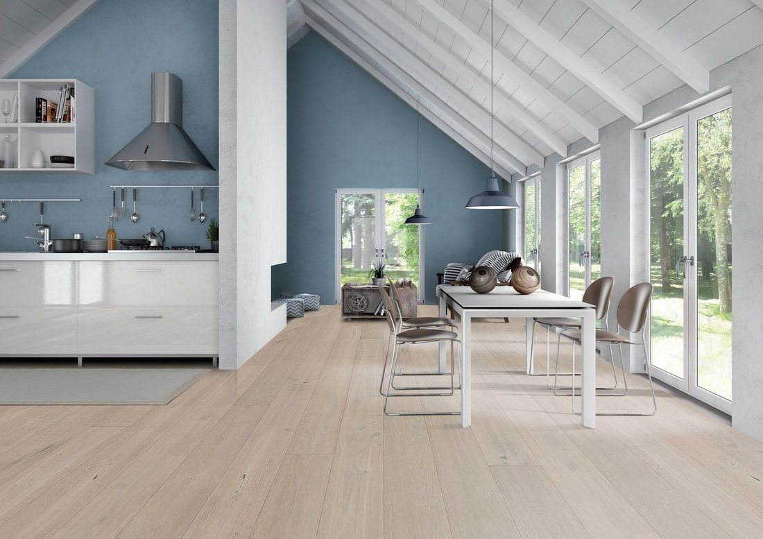 view of wooden flooring in a house
